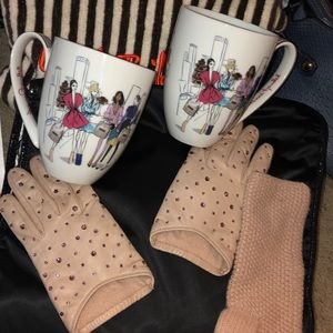 TWO Henri Bendel Brooklyn Coffee Mugs